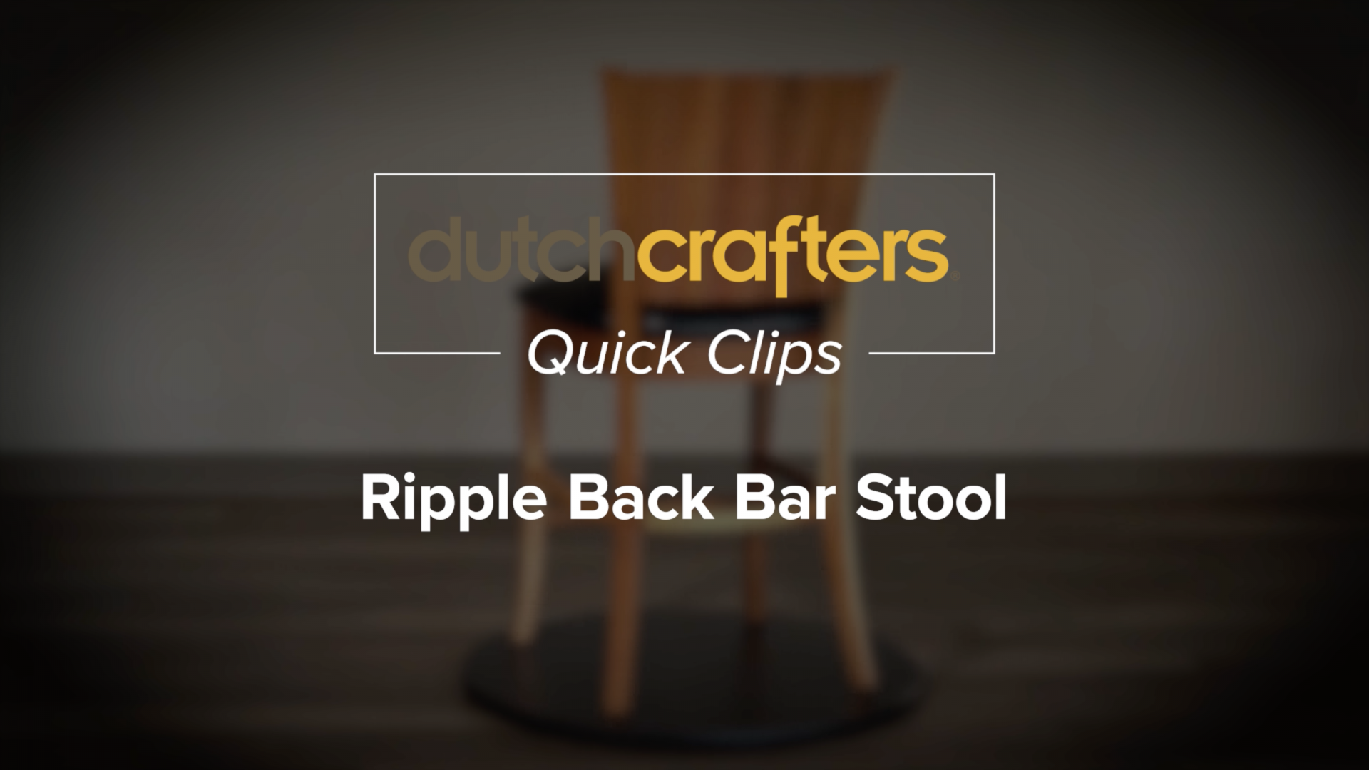 ripple-back-bar-stool-video