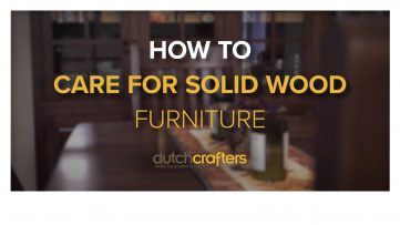 Title image for the video How to Care for Solid Wood Furniture with 7 Simple Tips