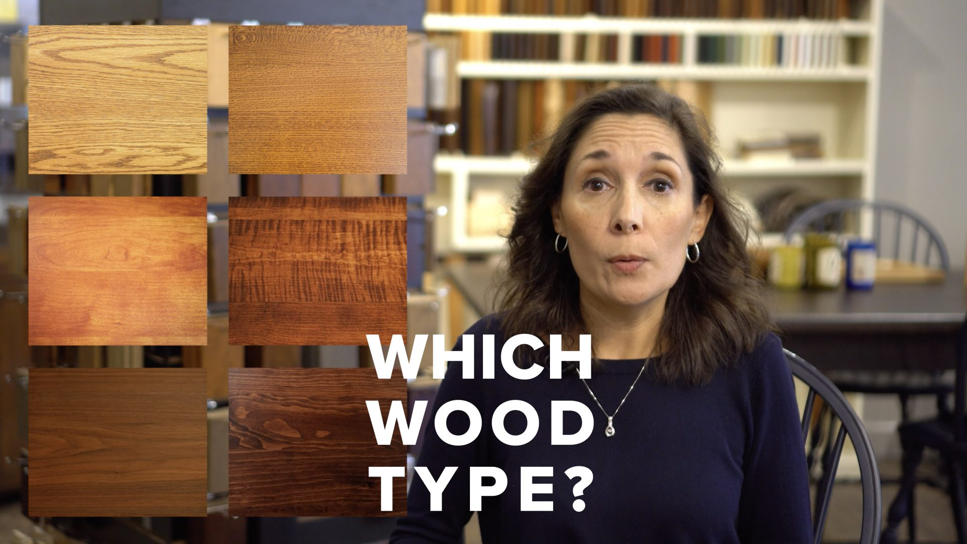 Choose your wood type video title