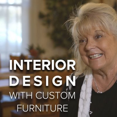 Lorraine Blais Interior Design with Custom Furniture from DutchCrafters