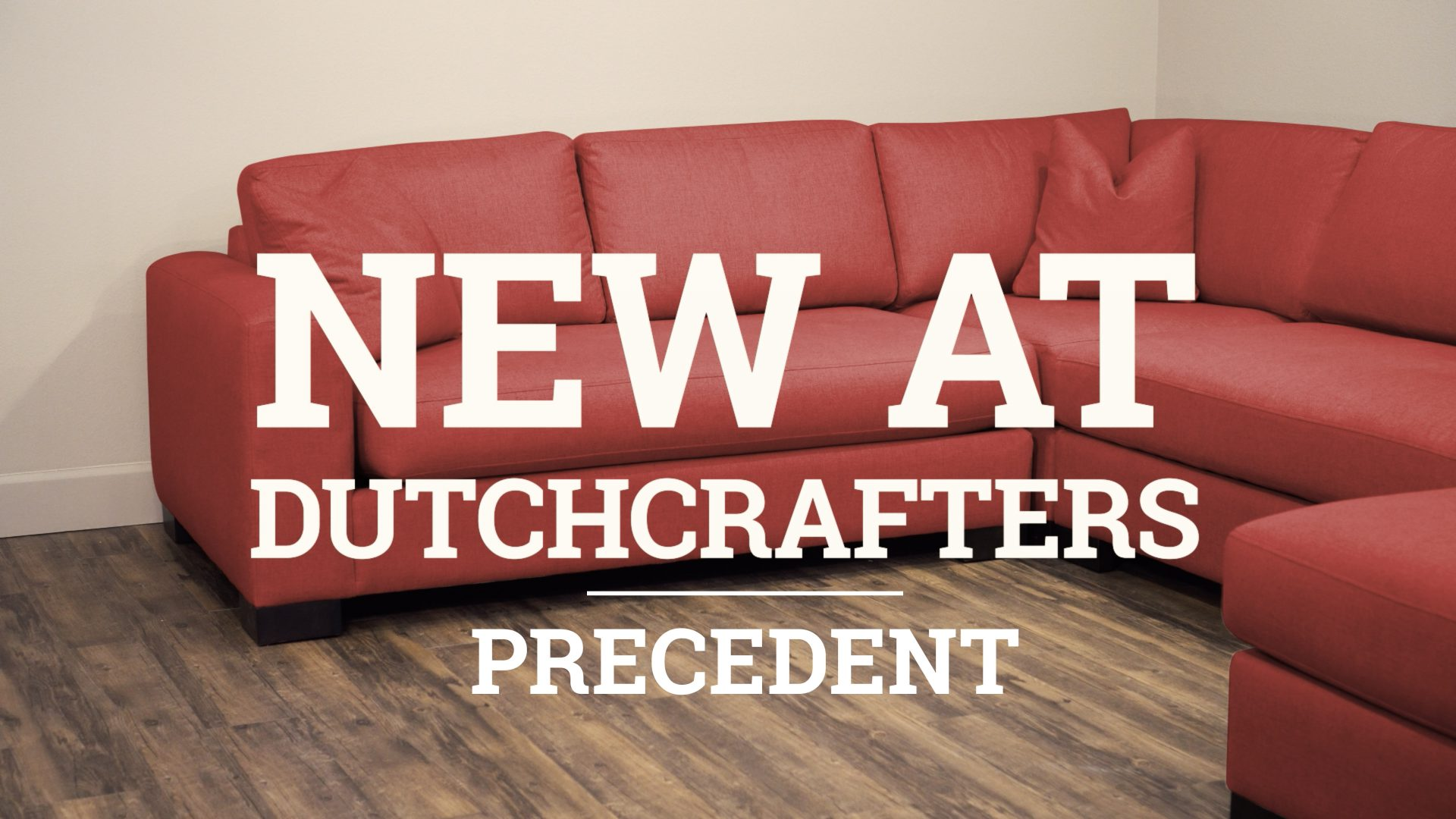 Precedent Living Room Furniture Video Title Image
