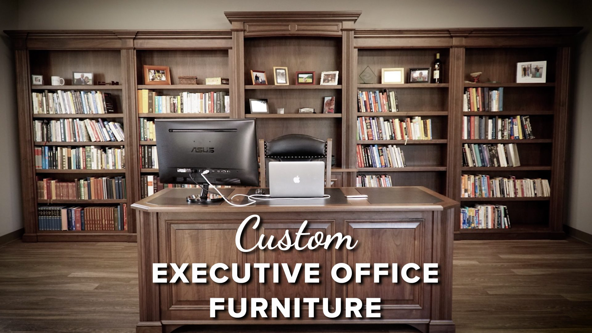 Make an Impression with Custom Executive Office Furniture