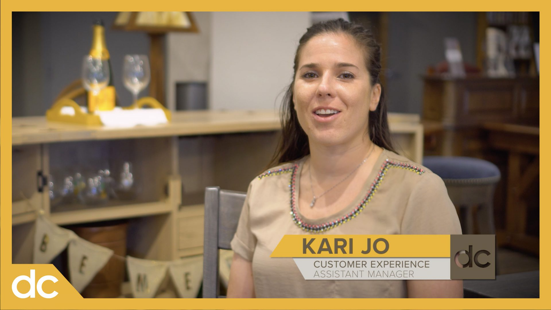 DutchCrafters Furniture Meet Kari-Jo Video