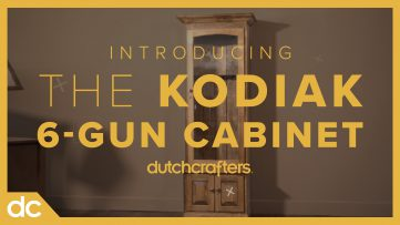 Introducing the Kodiak 6 Gun Cabinet at DutchCrafters