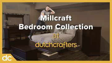 Ultimate Bedroom Furniture Quality Test Millcraft Bedroom Collection at DutchCrafters