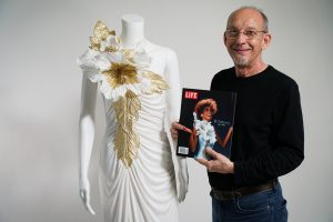 eugene stutzman with whitney houston dress
