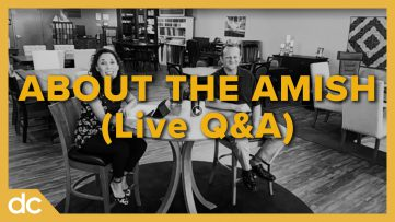 about the amish live q&a
