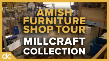 Amish Furniture Shop Tour Millcraft Collection Playlist