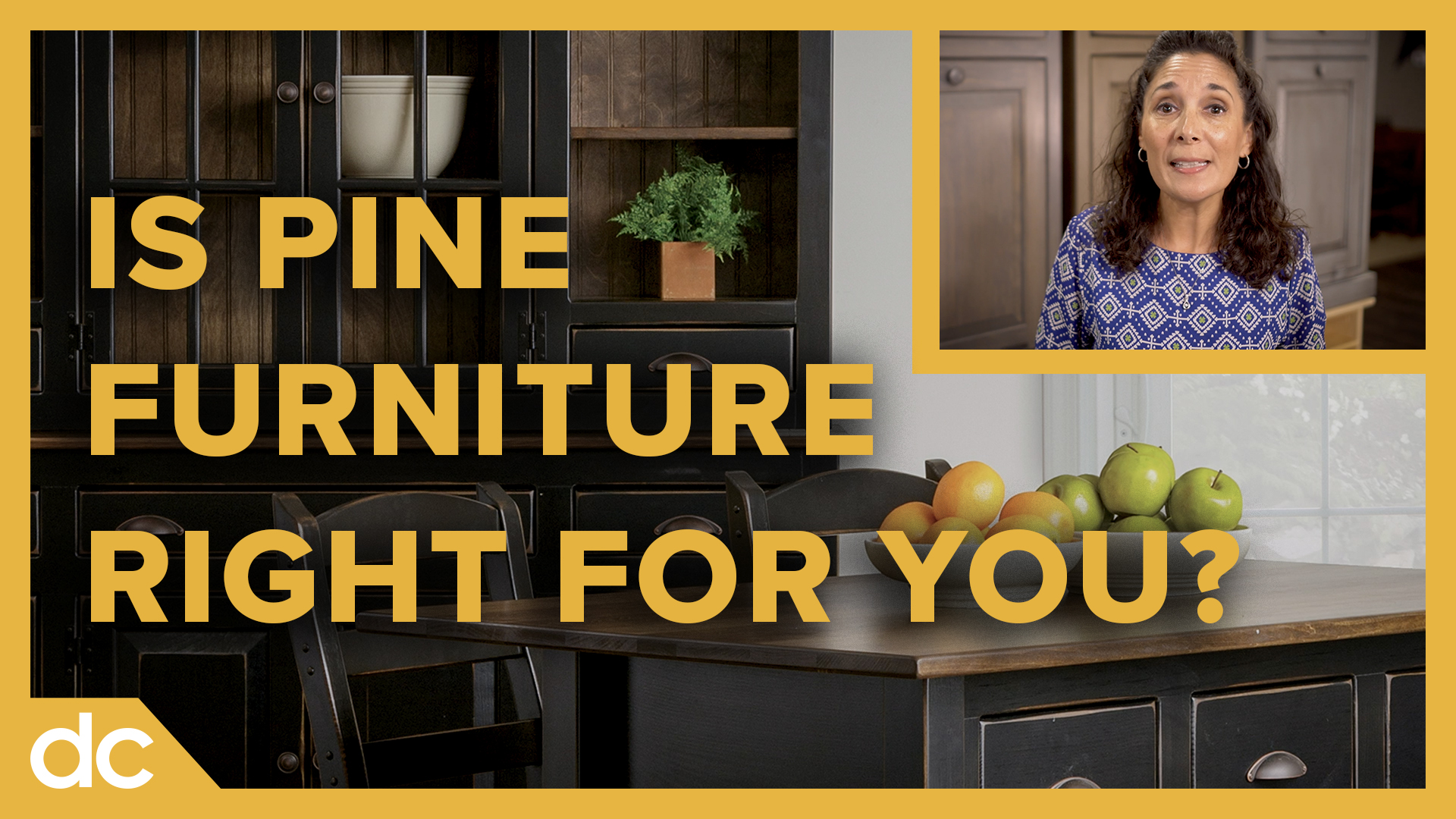is pine furniture right for you?