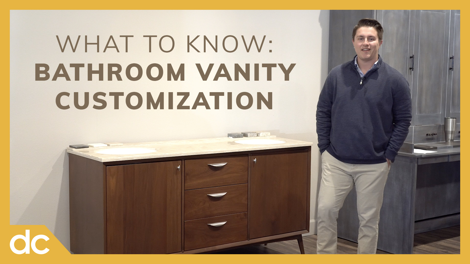 What to Know Bathroom Vanity Customization