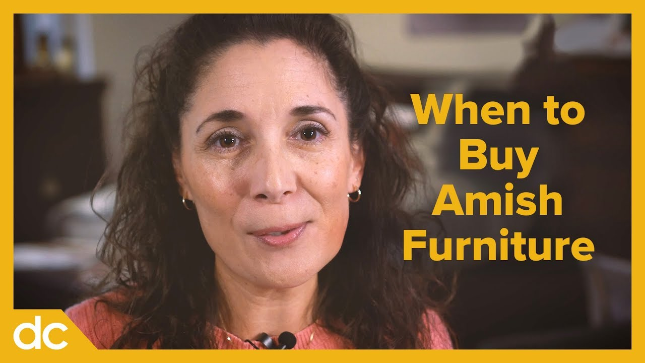 When to Buy Amish Furniture