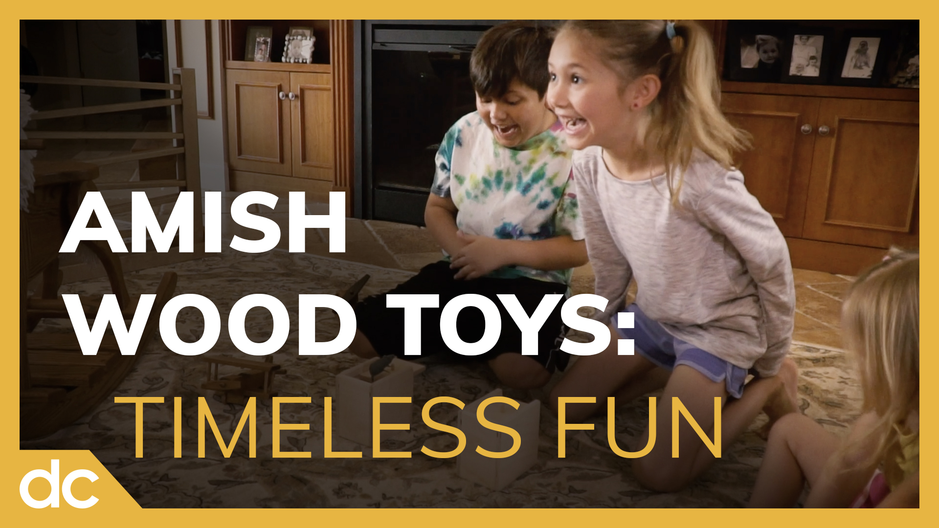 Amish Wood Toys: Timeless Fun