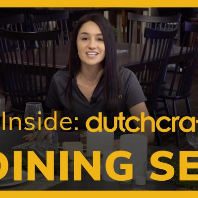 Inside DutchCrafters Dining Sets Video