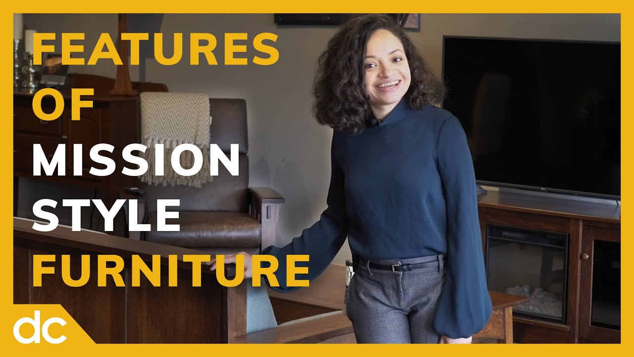 Features of Mission Style Furniture VIdeo Title