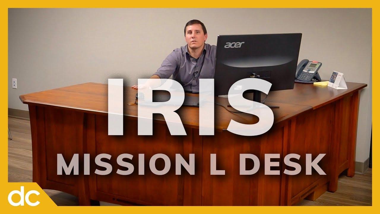 Iris Mission L Desk