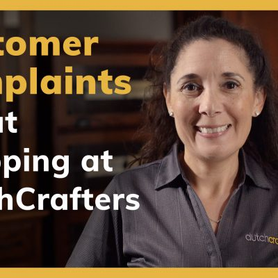 Customer complaints about shopping at DutchCrafters