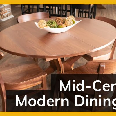 Mid-Century Modern Dining Set video title