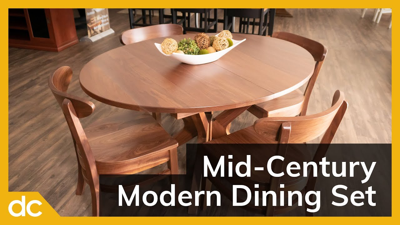 Mid-Century Modern Dining Set video title