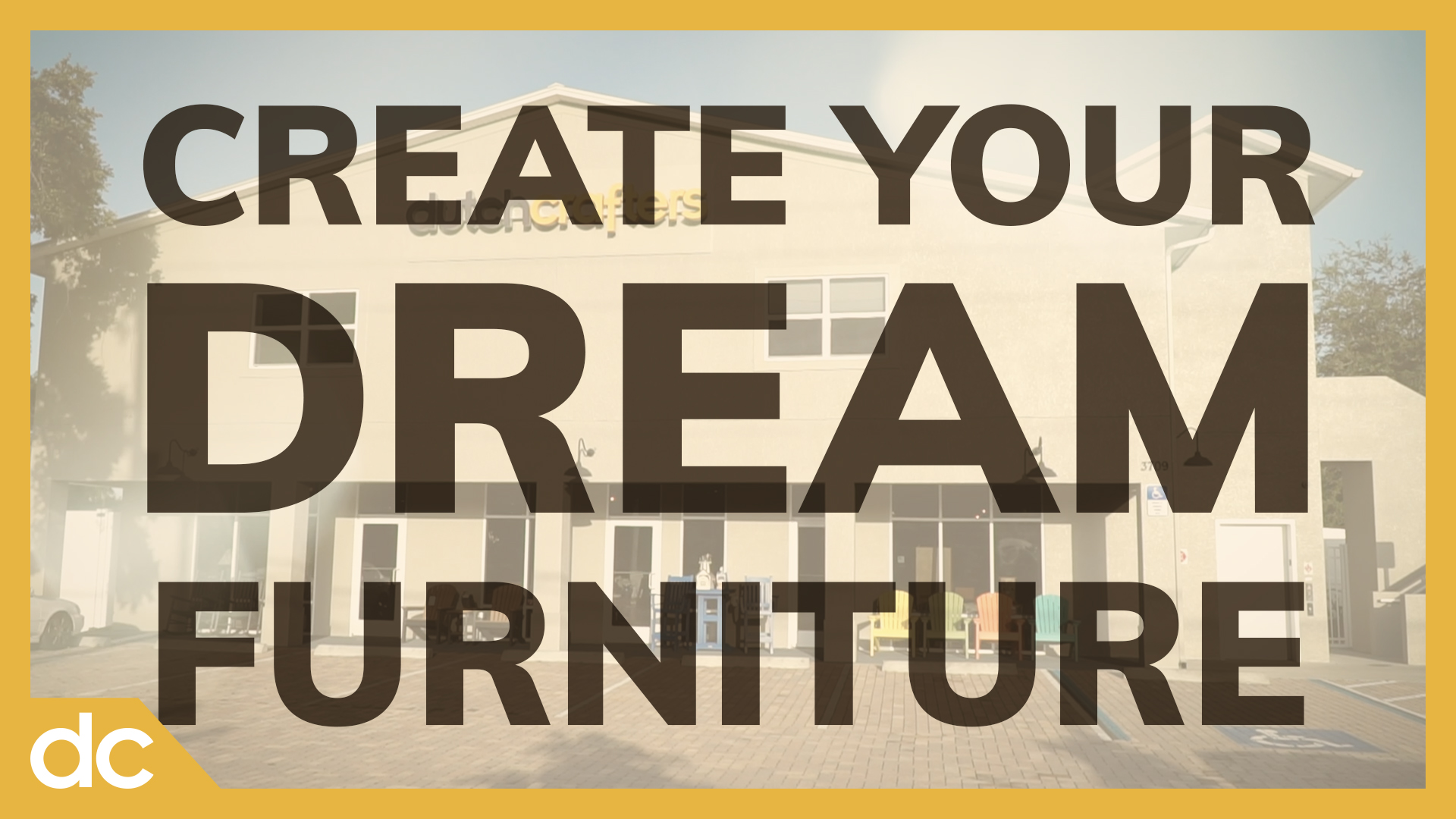 Create your Dream Furniture
