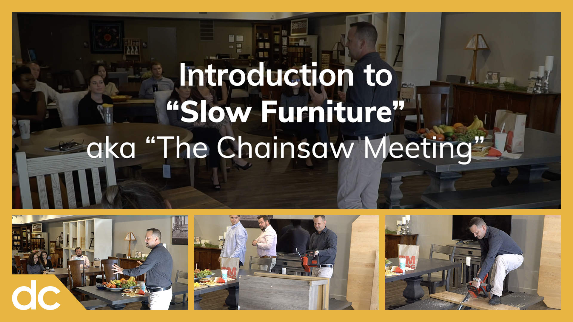 Introduction to Slow Furniture Title