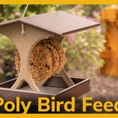 Poly Bird Feeders Video Title Image