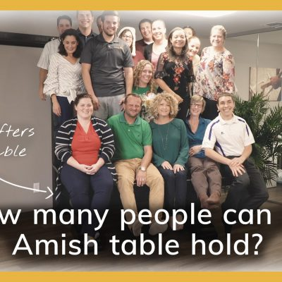 Amish Table Test Video