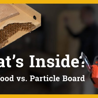 What's Inside? Solid Wood vs. Particle Board Video Thumbnail