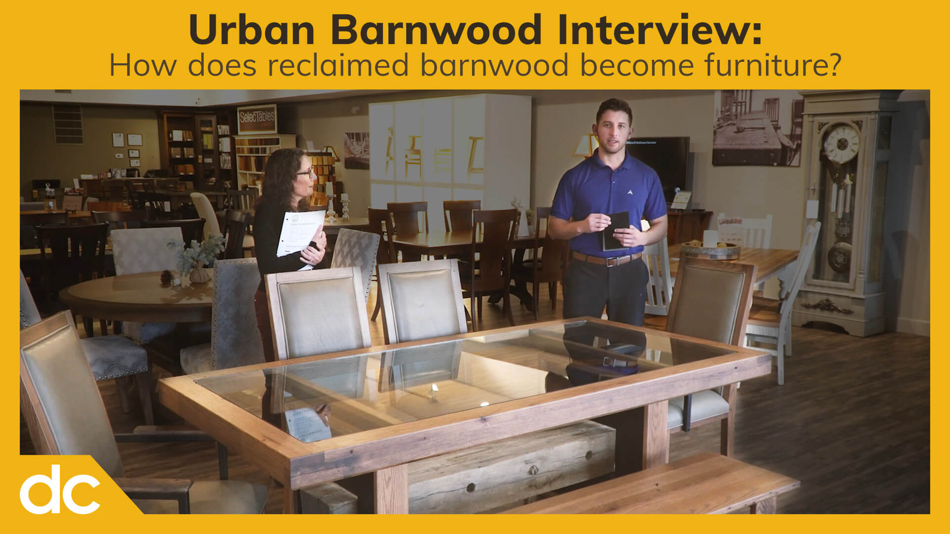 Urban Barnwood Interview Video Title
