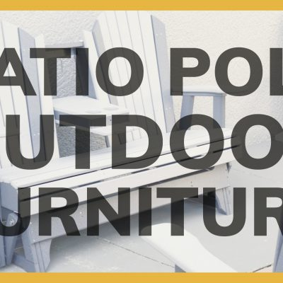 Patio Poly Outdoor Furniture