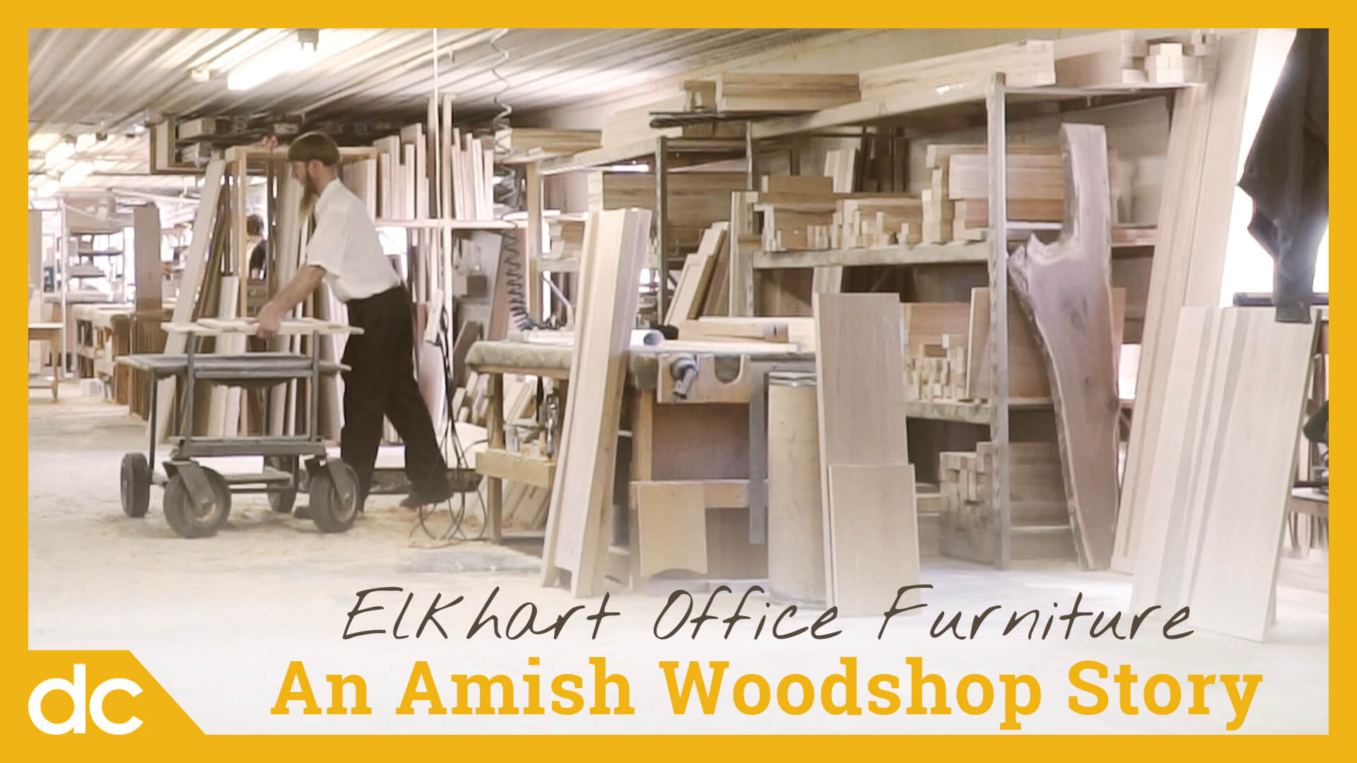 Elkhart Office Furniture: An Amish Woodshop Story Video Title