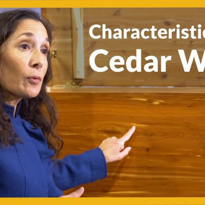 Video Title Image: Characteristics of Cedar Wood