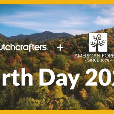 Video Title Image: DutchCrafters + American Forests Planting Trees for Earth Day 2021