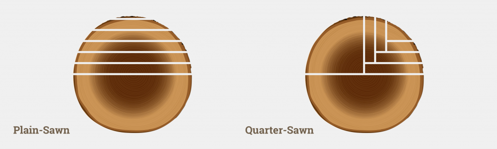 Straight Sawn vs. Quarter Sawn